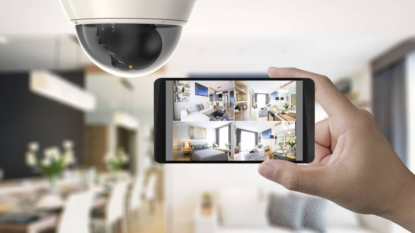 Smart CCTV Installed in Home in Glasgow